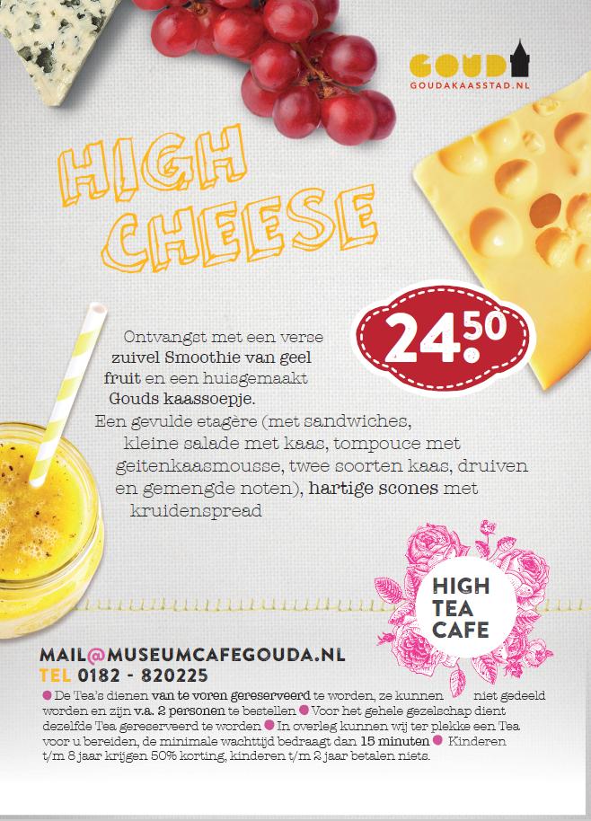 high cheese gouda