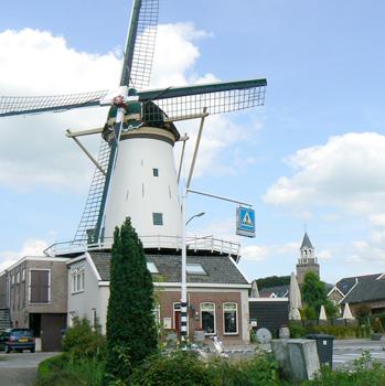 fietsen langs molens