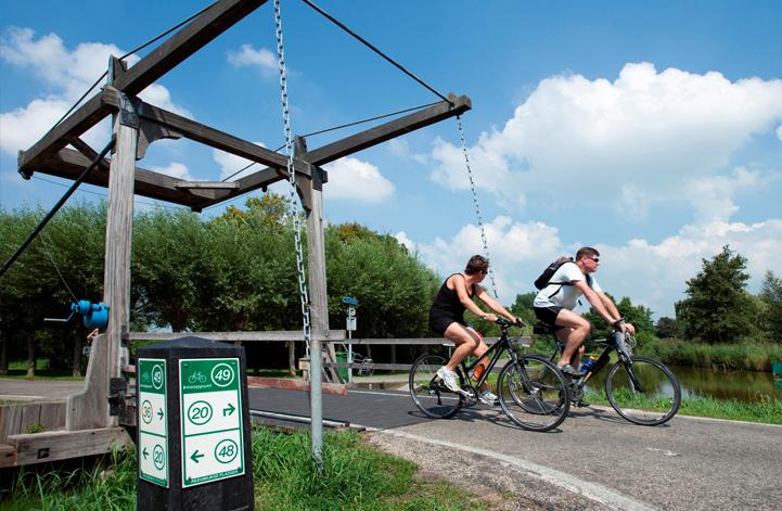 fietsroute groene hart